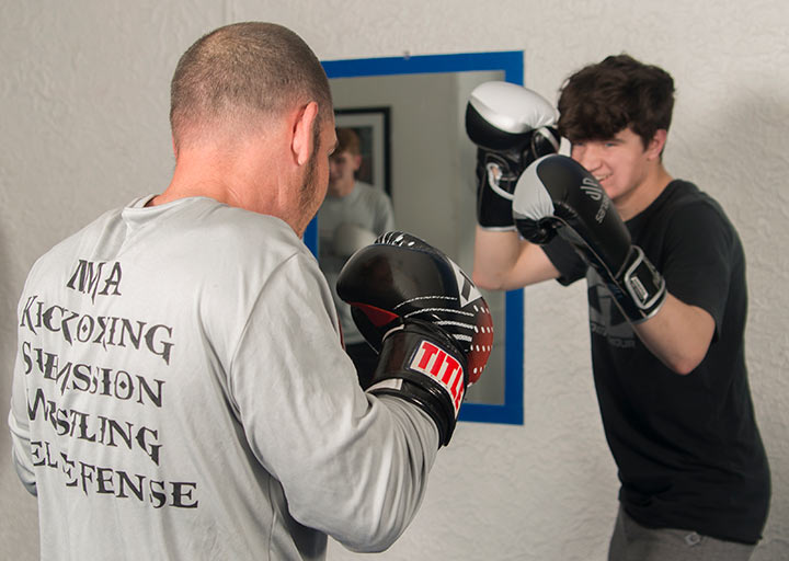 Photo of Boxing class at Wolverine Fight System in Bloomington Indiana