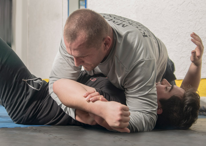 Photo of Catch Wrestling Instruction in Bloomington Indiana