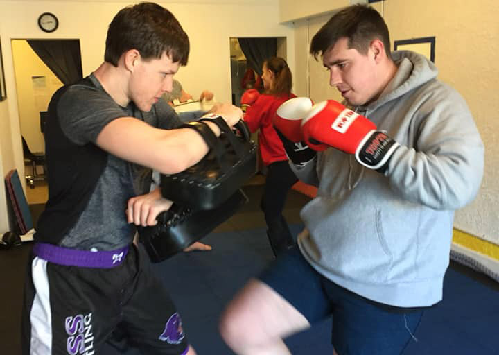 Photo of Kickboxing Class in Bloomington Indiana